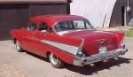 1957 Chevy 210 4 Dr Post